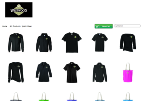 Corporate Apparel Web Store